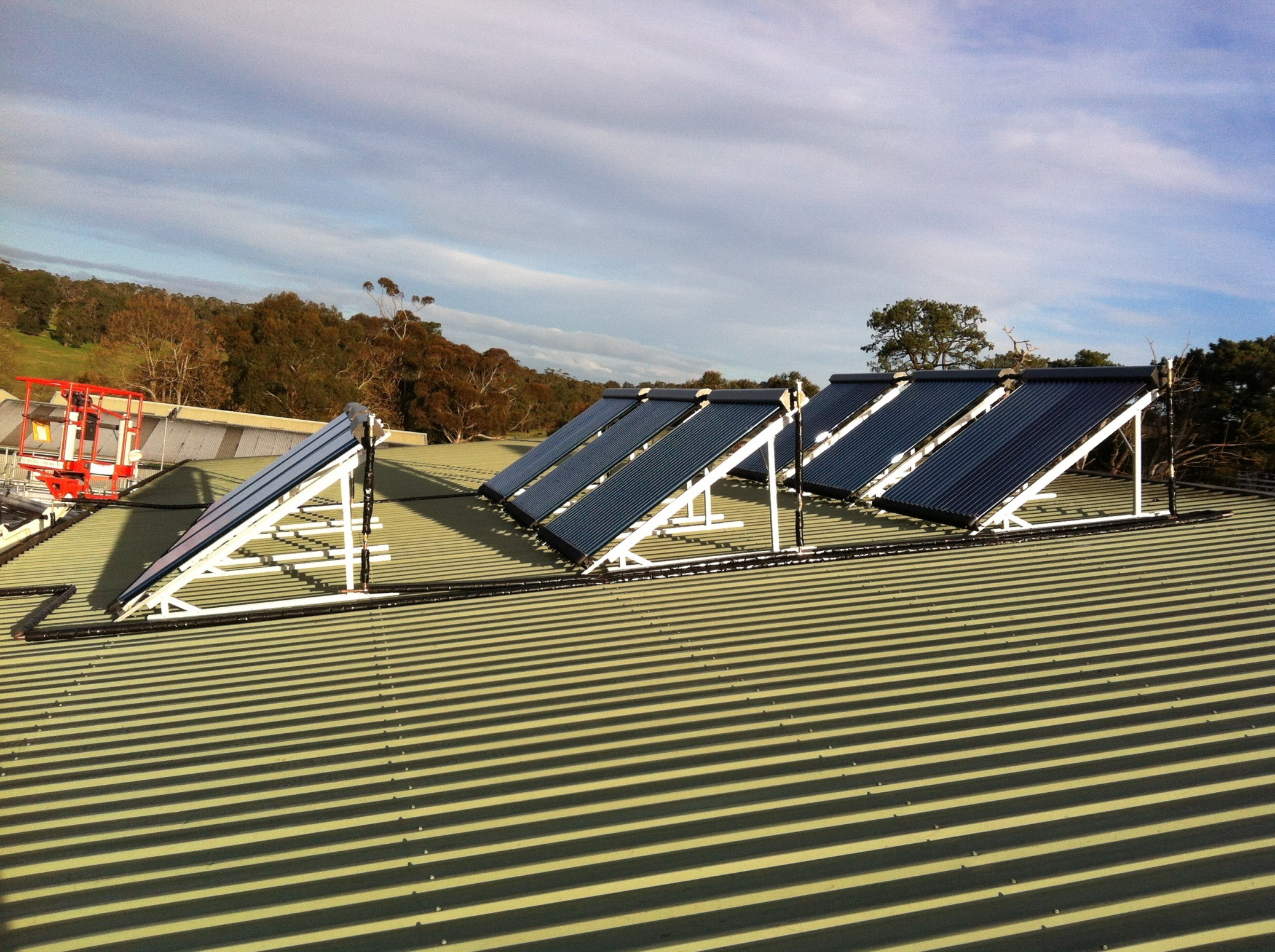 Dormana  solar panel installation