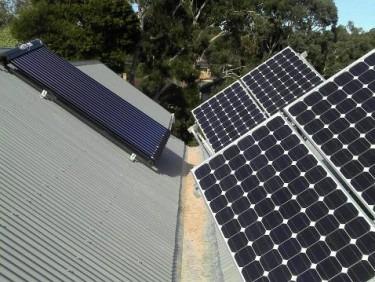 Solar Hot Water Installation in vermont