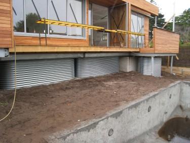Under-Deck Slimline Tank Installation