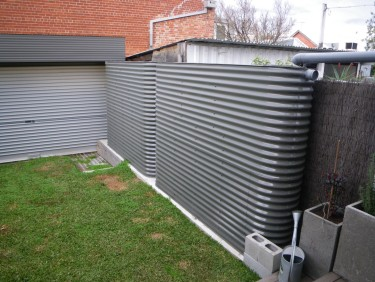 5000L Steel Slimline Watertanks