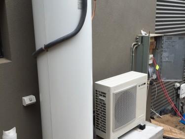 Sanden 315L Heat Pump St Andrews Beach Installation