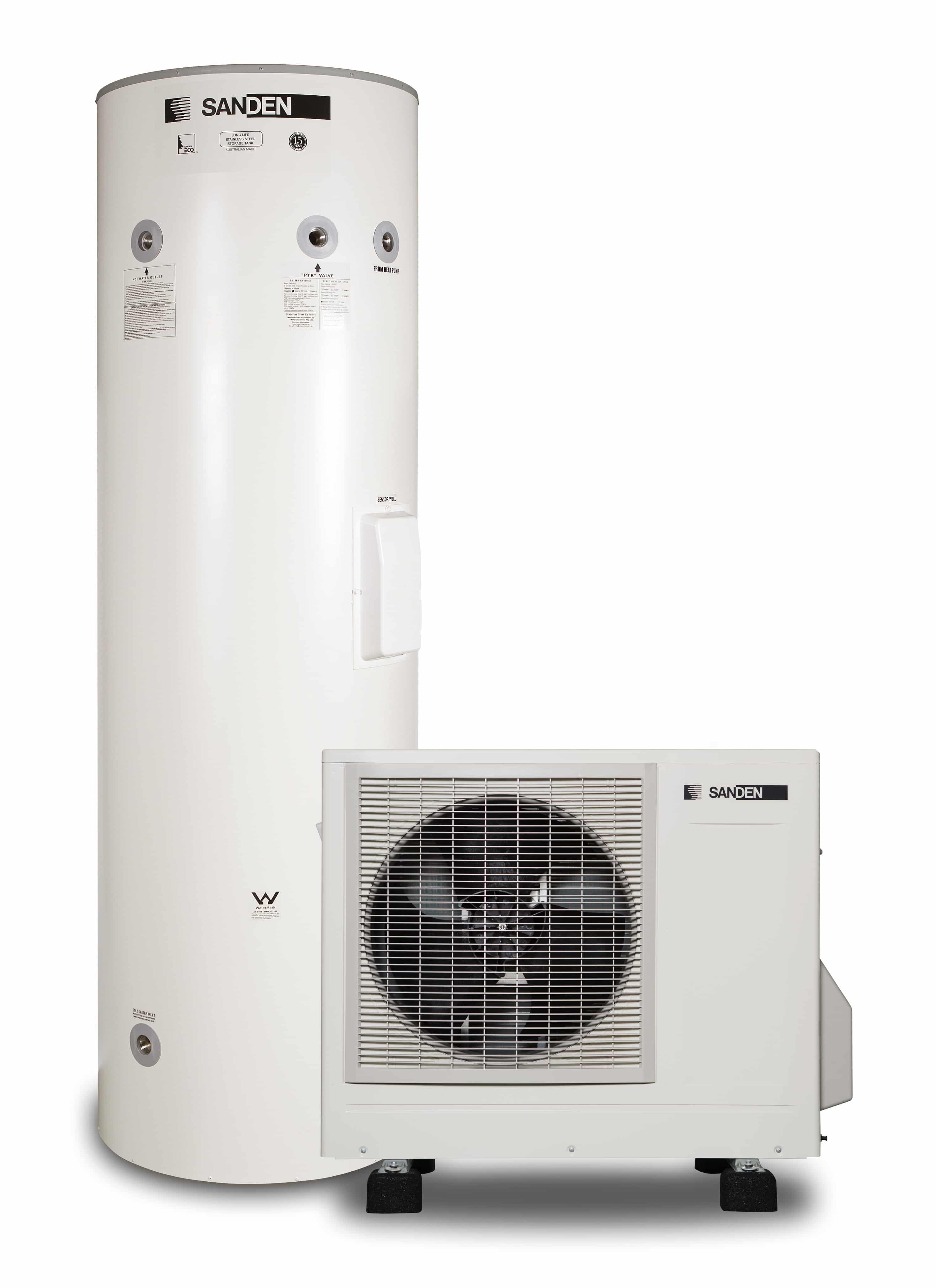 Sanden Eco Plus Heat Pump